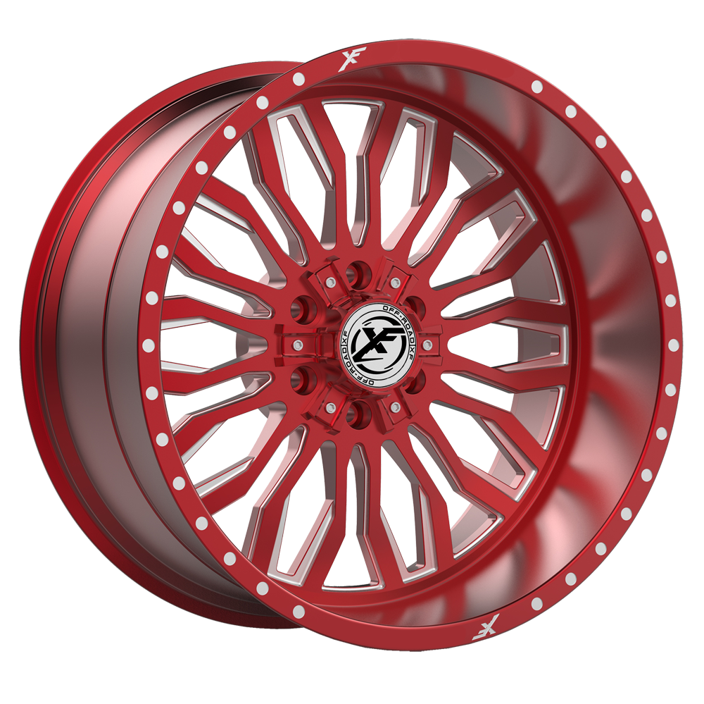 Red Machined